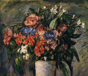 Paul Cezanne - Pot of Flowers