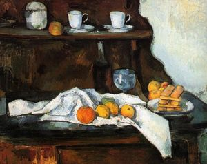 Paul Cezanne - O Buffet