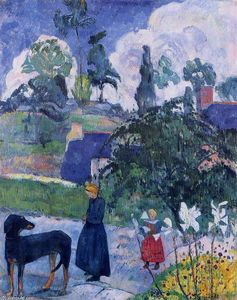 Paul Gauguin - Entre os lillies