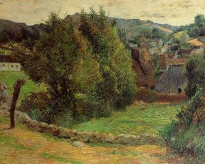 Paul Gauguin - Monte Sainte-Marguerite de perto do Presbitério