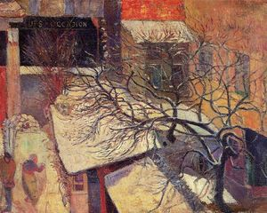 Paul Gauguin - paris no neve
