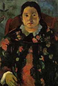 Paul Gauguin - Retrato de Suzanne Bambridge
