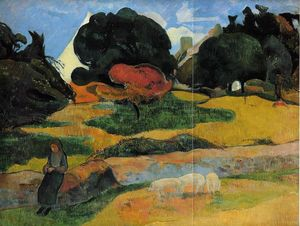 Paul Gauguin - O guardador de porcos