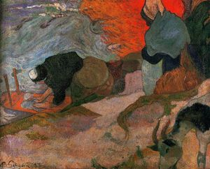 Paul Gauguin - Lavadeiras