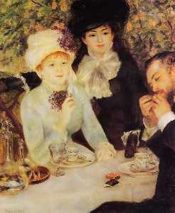 Pierre-Auguste Renoir - O final do almoço