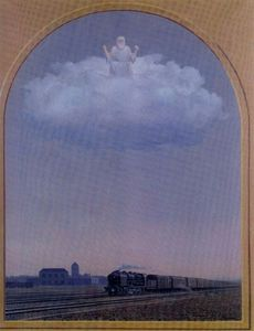 Rene Magritte - The Nightingale