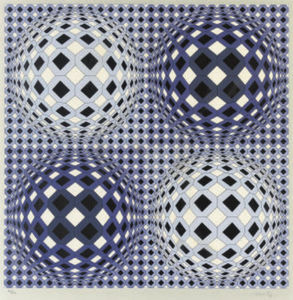 Victor Vasarely - Abstrato 2