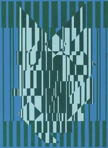 Victor Vasarely - Calcis-C