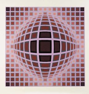 Victor Vasarely - Louisiana 1