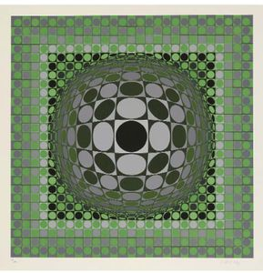 Victor Vasarely - Louisiana 2
