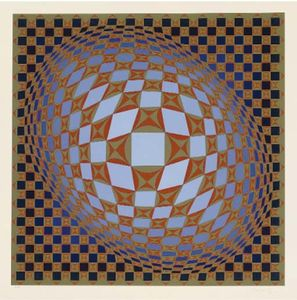 Victor Vasarely - Louisiana 3