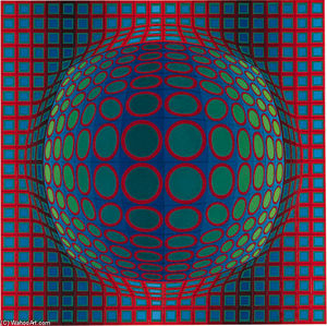 Victor Vasarely - Syry