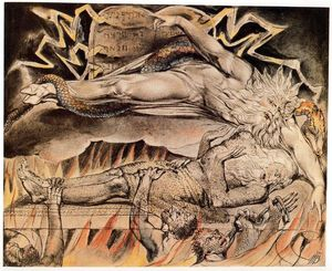William Blake - Job s sonhos maus 1