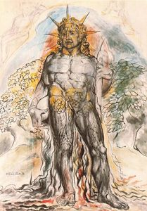 William Blake - o corrente de humano história `personified`