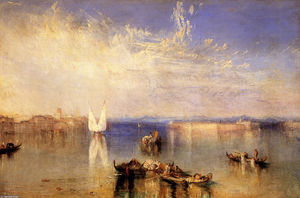 William Turner - campo santo , Veneza