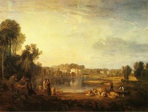 William Turner - Pope's Vila , em twickenham