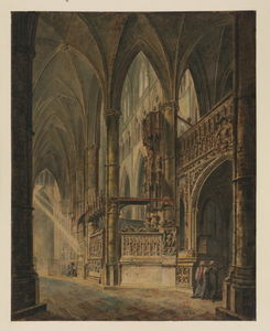William Turner - Abadia de Westminster, Henry VII Capela
