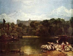 William Turner - Castelo de Windsor da Tamisa