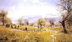 Peder Mork Monsted - pelo lago