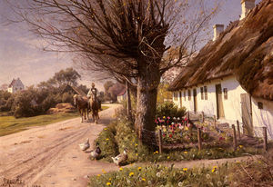 Peder Mork Monsted - chalés do Hjornbaek