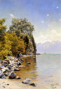Peder Mork Monsted - Pesca no Laca Leman