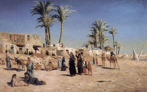 Peder Mork Monsted - Nos arredores de Cairo