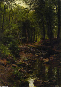 Peder Mork Monsted - Skovstraekning