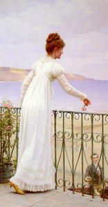 Edmund Blair Leighton - Um Favor