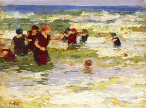 Edward Henry Potthast - No Beach 2