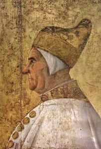 Gentile Bellini - Retrato do Doge Giovanni Mocenigo