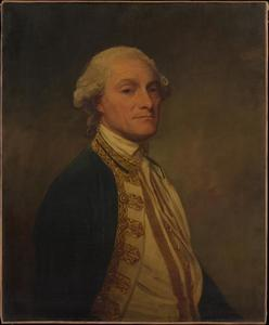 George Romney - Almirante Sir Chaloner Ogle