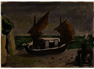 Georges Braque - Barcos 1