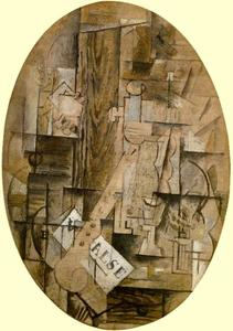 Georges Braque - o clarinete Valse