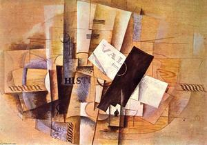 Georges Braque - A Mesa do Músico