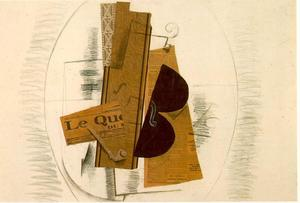 Georges Braque - Violino e Pipe, Le Quotidien -