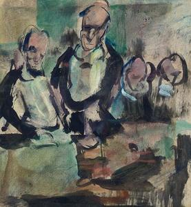 Georges Rouault - jantar