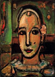 Georges Rouault - Pierrot 1