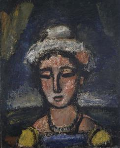 Georges Rouault - A mulher italiana
