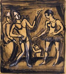 Georges Rouault - o desfile