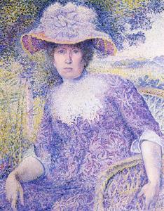 Henri Edmond Cross - Retrato de Madame Cruz