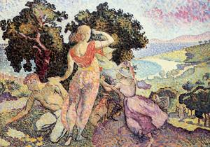 Henri Edmond Cross - Estudo para Excuirsion