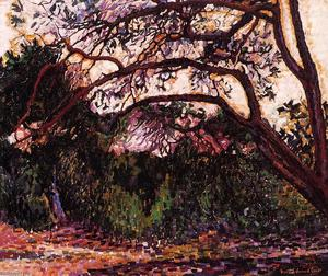 Henri Edmond Cross - Woded Paisagem