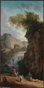Hubert Robert - o dance