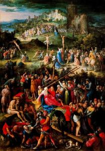 Jan Brueghel The Elder - Calvário