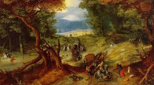 Jan Brueghel The Elder - O Ambush