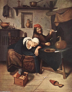 Jan Steen - o bebedor