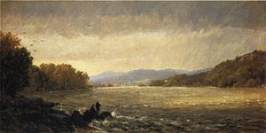 Jasper Francis Cropsey - A View Upstream