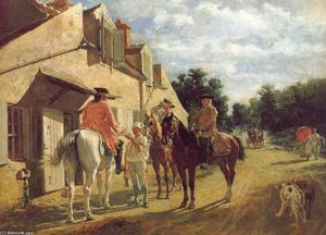 Jean Louis Ernest Meissonier - no `relay` estação