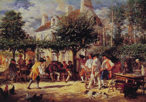Jean Louis Ernest Meissonier - Domingo em Poissy