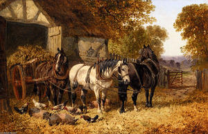 John Frederick Herring Junior - O Hay Cart